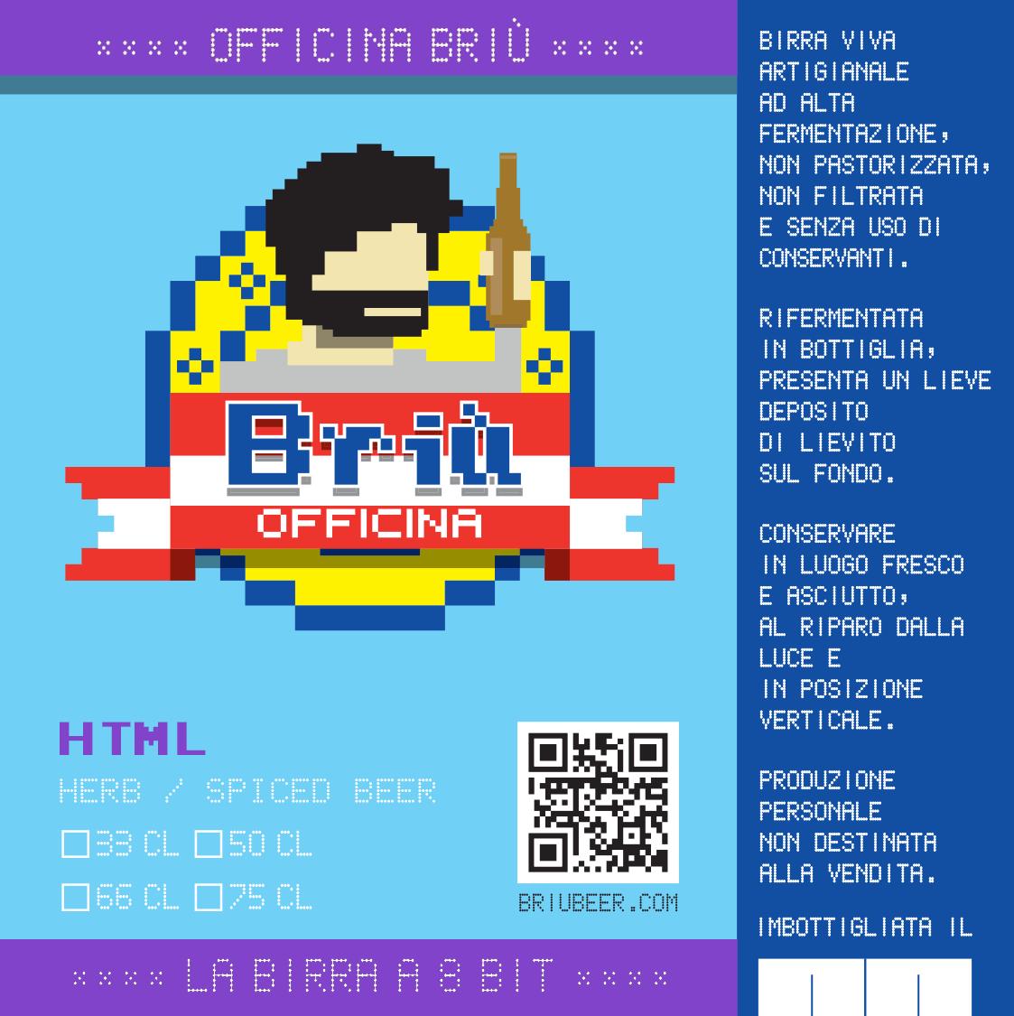 Briù HTML is born!