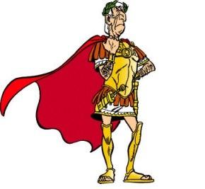 Bombardare la Gallia per distruggere il villaggio di Asterix